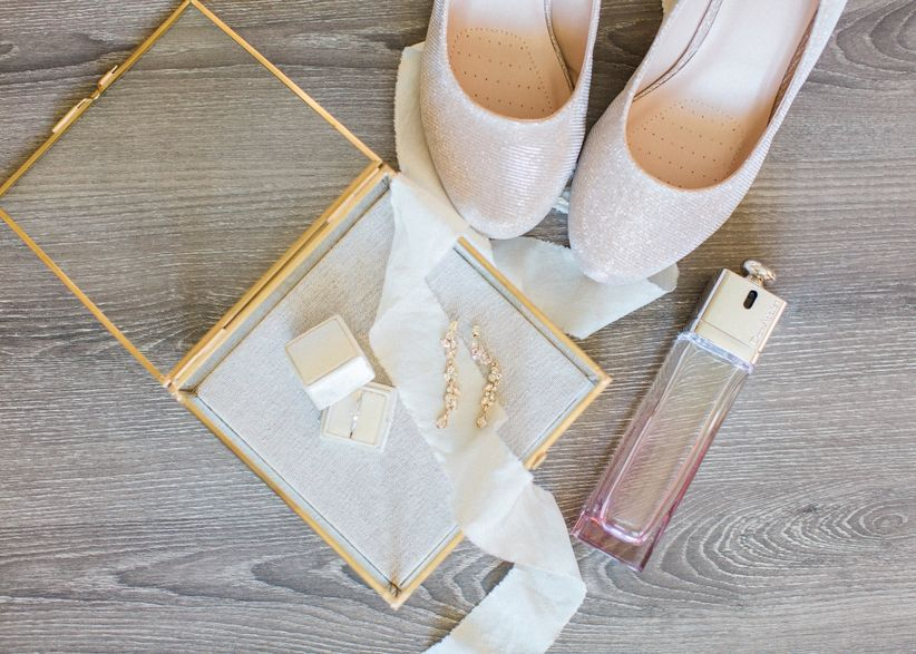 Bridal accessories and fragrance