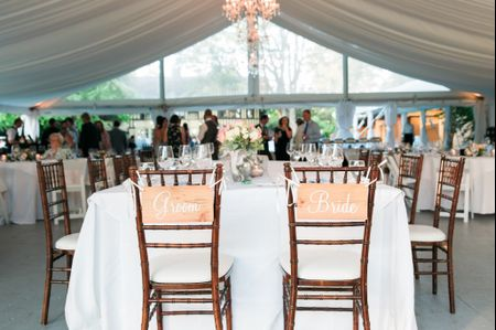 How to Decide Where to Sit at Your Wedding Reception
