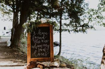 24 Creative Ways to Use Wedding Calligraphy