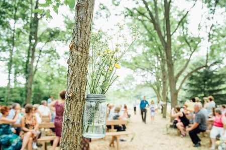 20 Mason Jar Ideas for Your Wedding Decor