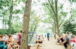 20 Mason Jar Ideas for Your Wedding Decor