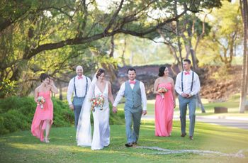 6 Reasons Why Small Wedding Parties are Awesome