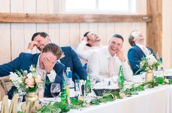 How to Write a Funny Wedding Toast