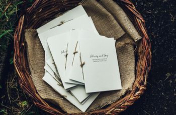 4 Things Your Wedding Ceremony Program Must Include