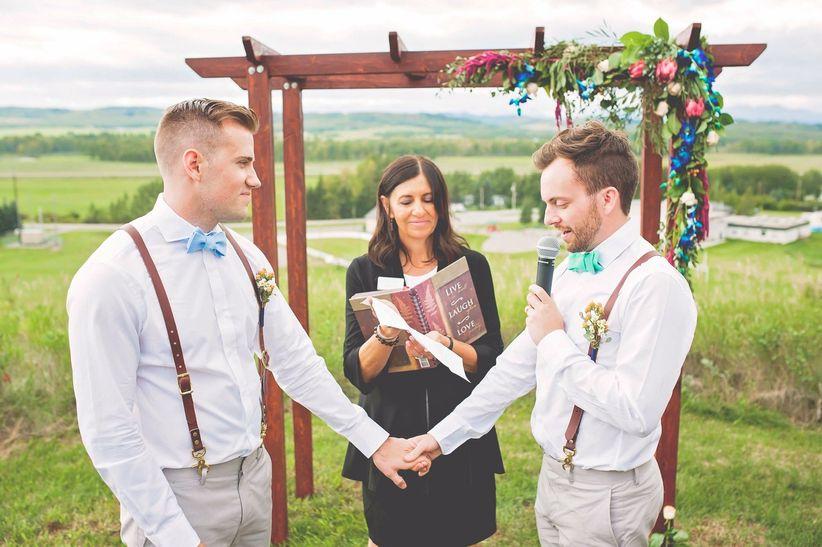 Gay wedding ceremony vows