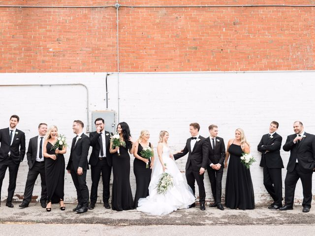 Adam and Andrea's wedding in Calgary, Alberta 8