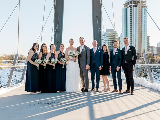 William and Lucianna's wedding in Calgary, Alberta 92