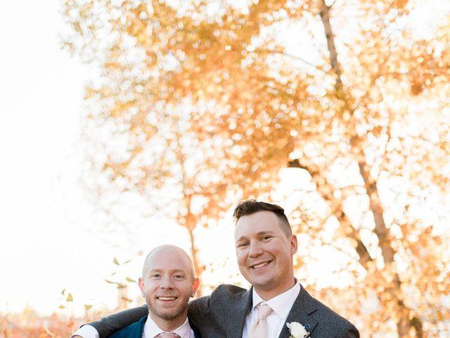 William and Lucianna's wedding in Calgary, Alberta 111