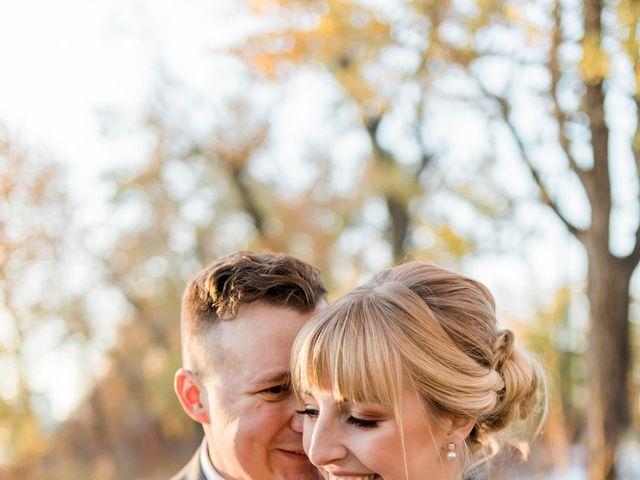 William and Lucianna's wedding in Calgary, Alberta 1
