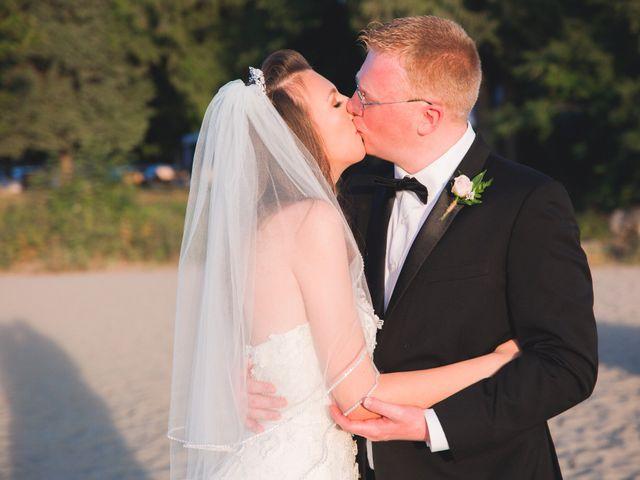 The wedding of Anya and Eric