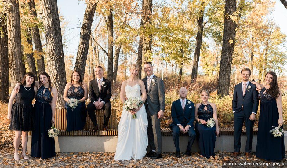 William and Lucianna's wedding in Calgary, Alberta
