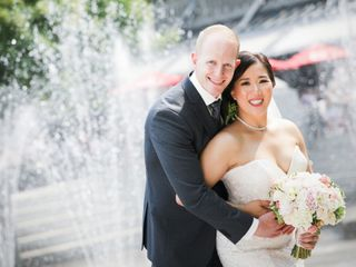 The wedding of Stephanie and Tristian