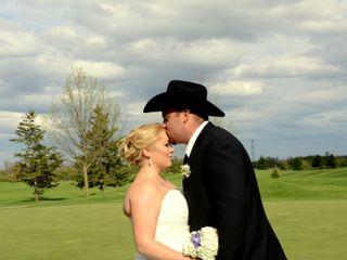 The wedding of Ashley and Chris