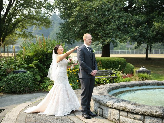 Tristian and Stephanie's wedding in Vancouver, British Columbia 1