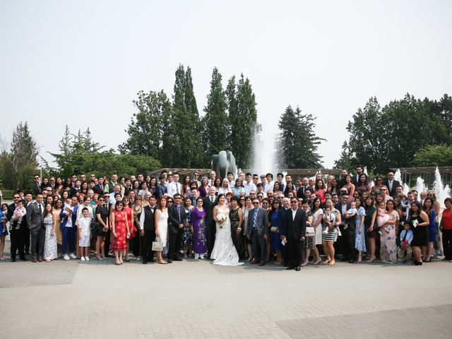 Tristian and Stephanie's wedding in Vancouver, British Columbia 42