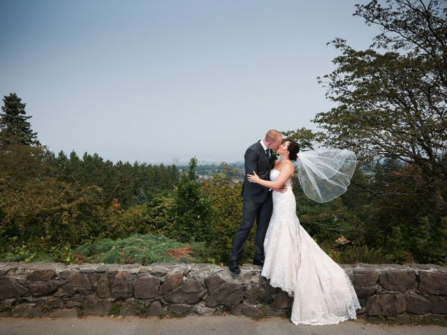 Tristian and Stephanie's wedding in Vancouver, British Columbia 2