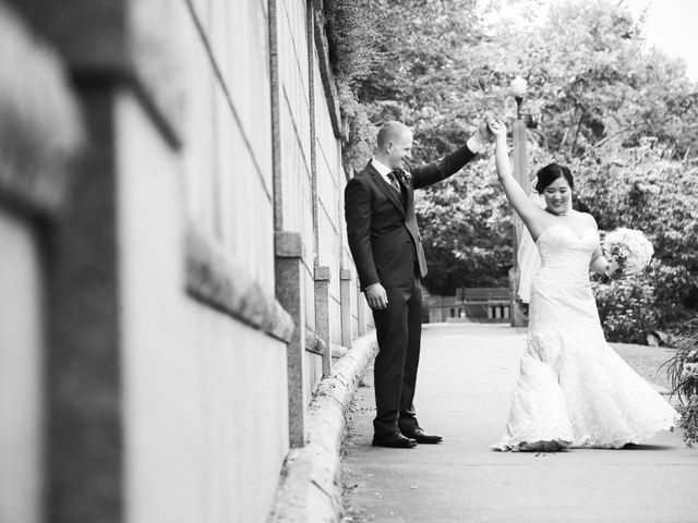 Tristian and Stephanie's wedding in Vancouver, British Columbia 49
