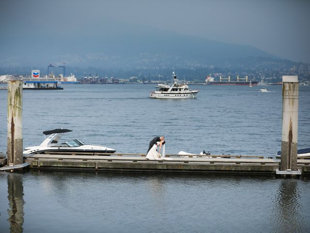 Tristian and Stephanie's wedding in Vancouver, British Columbia 52