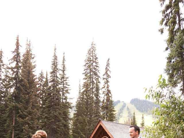 Andrew and Colleen's wedding in Sun Peaks, British Columbia 8