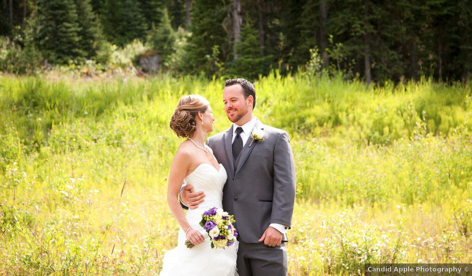 Andrew and Colleen's wedding in Sun Peaks, British Columbia