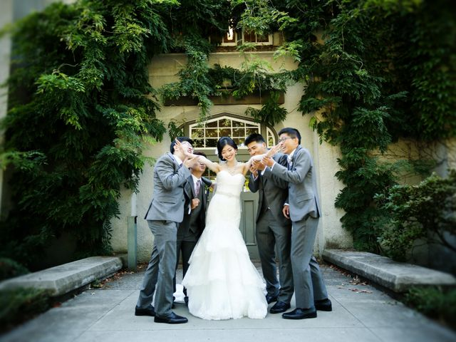 Billy and Tina's wedding in Vancouver, British Columbia 43