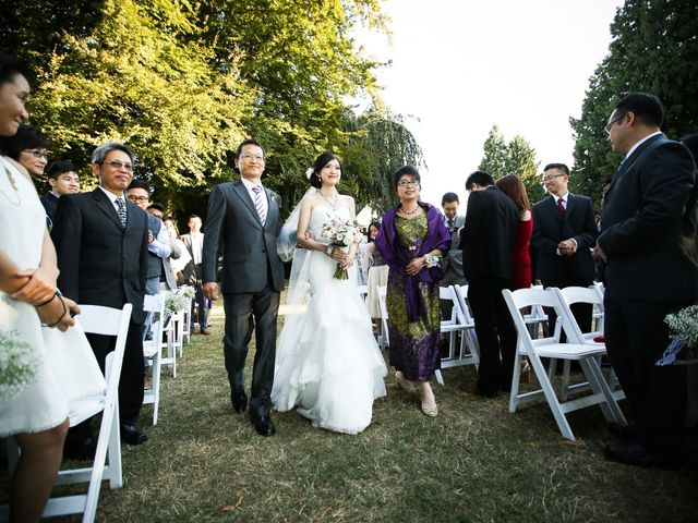 Billy and Tina's wedding in Vancouver, British Columbia 56