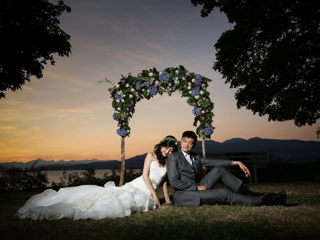 Billy and Tina's wedding in Vancouver, British Columbia 83