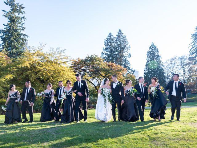 David and Stefania's wedding in Vancouver, British Columbia 76