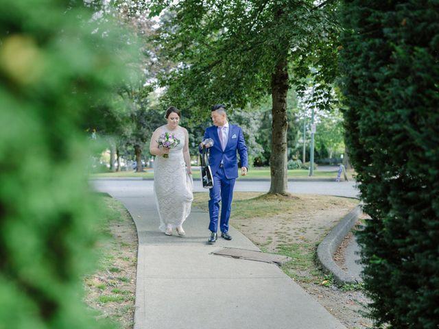 Antony and Hayley's wedding in Burnaby, British Columbia 1