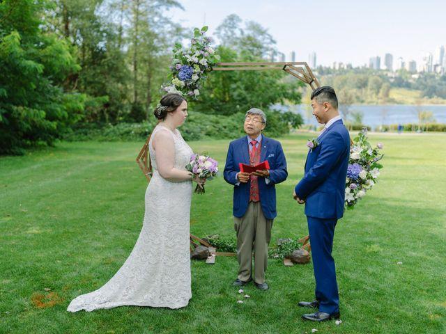Antony and Hayley's wedding in Burnaby, British Columbia 13