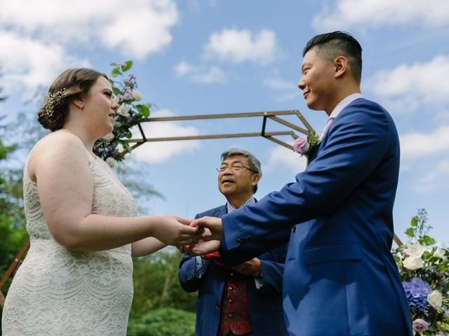 Antony and Hayley's wedding in Burnaby, British Columbia 16