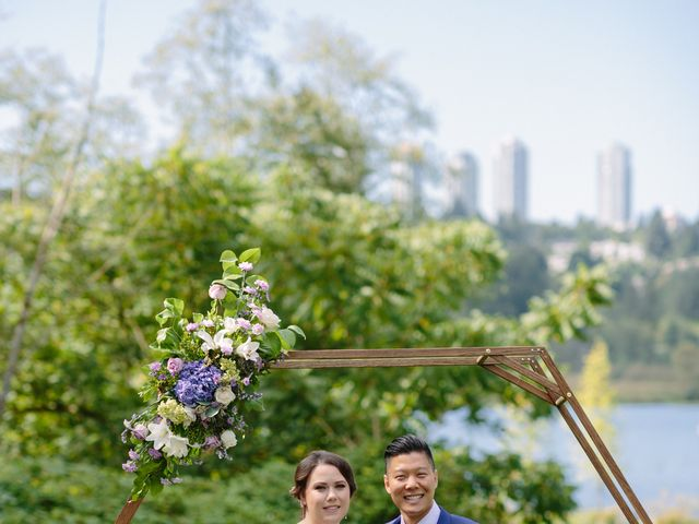 Antony and Hayley's wedding in Burnaby, British Columbia 19