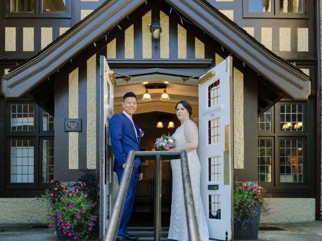 Antony and Hayley's wedding in Burnaby, British Columbia 32