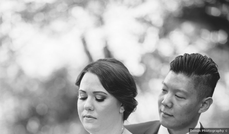 Antony and Hayley's wedding in Burnaby, British Columbia