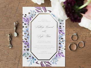 The wedding of Kate and Kyle 1