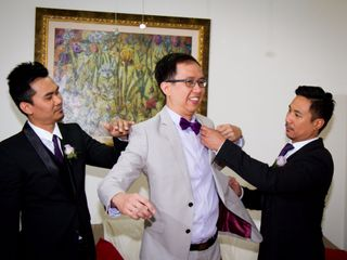 The wedding of Fae and Herbert 2