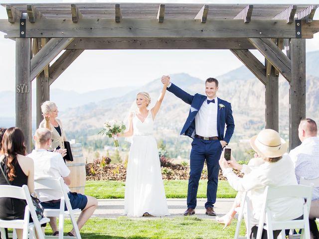 Jagger and Jamie's wedding in Okanagan Falls, British Columbia 16
