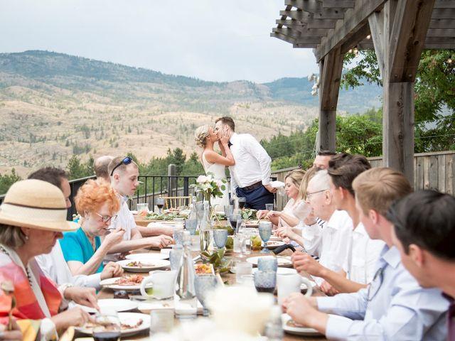 Jagger and Jamie's wedding in Okanagan Falls, British Columbia 18