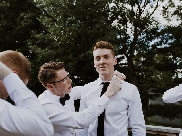 Tyrone and Danielle's wedding in Huntsville, Ontario 14
