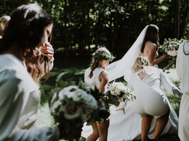Tyrone and Danielle's wedding in Huntsville, Ontario 25