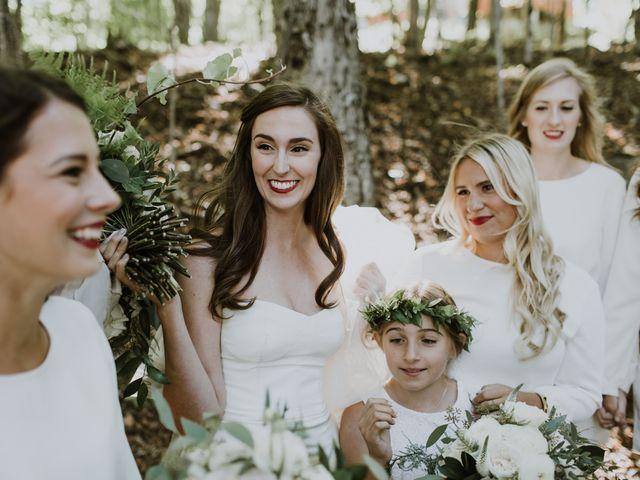 Tyrone and Danielle's wedding in Huntsville, Ontario 28