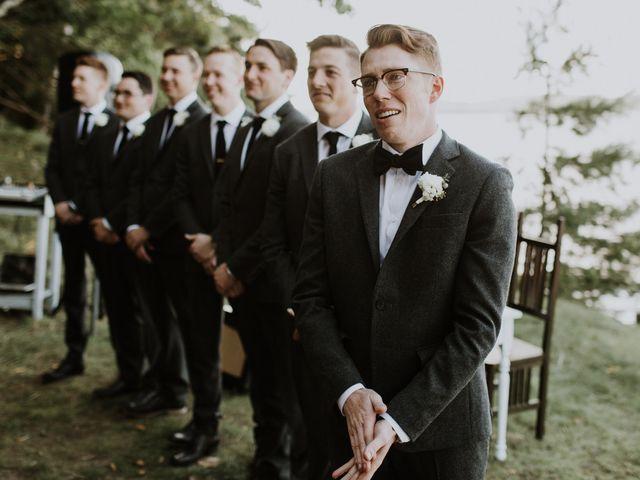 Tyrone and Danielle's wedding in Huntsville, Ontario 35