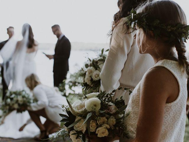Tyrone and Danielle's wedding in Huntsville, Ontario 39