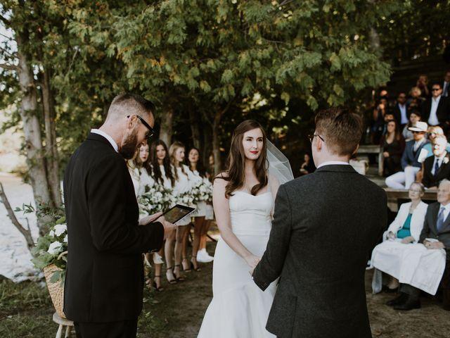 Tyrone and Danielle's wedding in Huntsville, Ontario 40