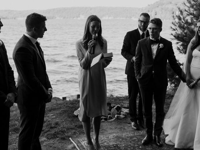 Tyrone and Danielle's wedding in Huntsville, Ontario 41