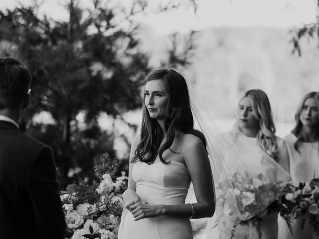 Tyrone and Danielle's wedding in Huntsville, Ontario 43