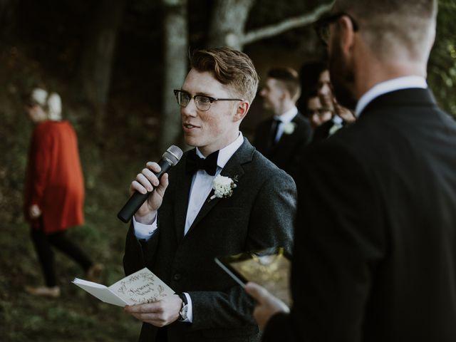 Tyrone and Danielle's wedding in Huntsville, Ontario 45