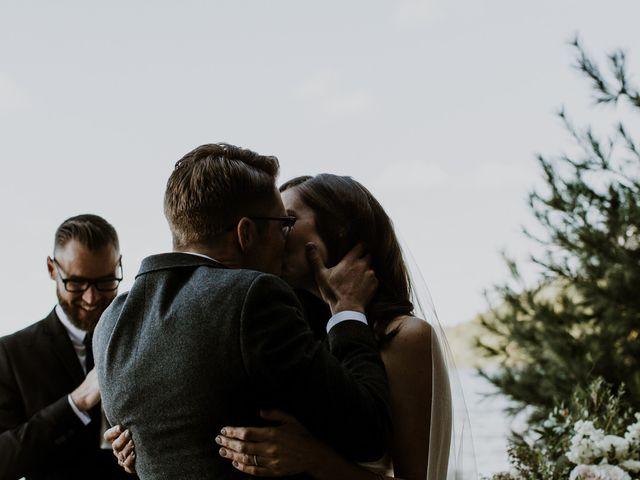 Tyrone and Danielle's wedding in Huntsville, Ontario 49