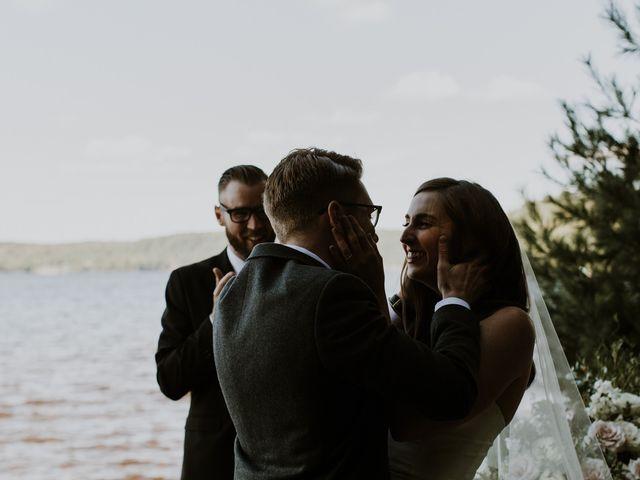 Tyrone and Danielle's wedding in Huntsville, Ontario 50