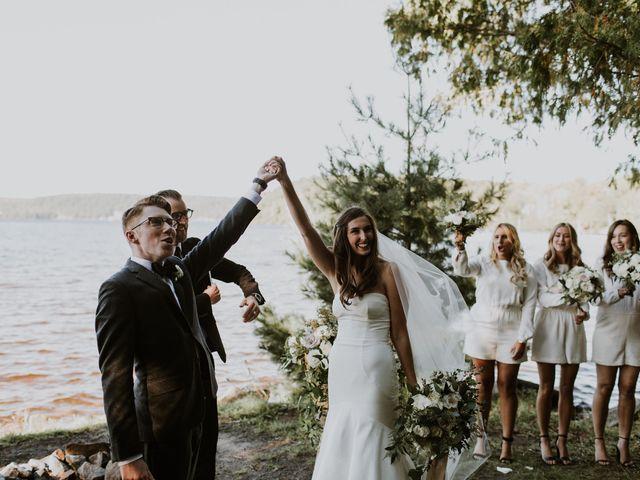 Tyrone and Danielle's wedding in Huntsville, Ontario 51
